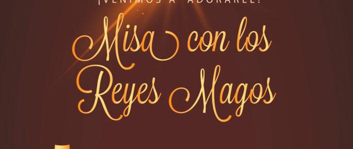 Misa con los Reyes Magos